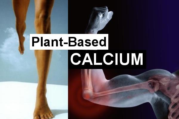 calcium vegan plant based strong bones