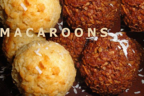 vegan macaroons
