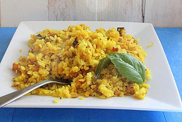 Breakfast Poha Recipe