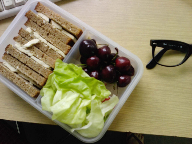 vegan office food