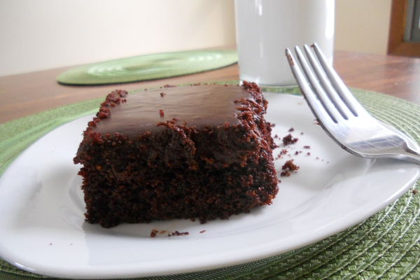 Vegan Grandma's Chocolate Mayonnaise Cake