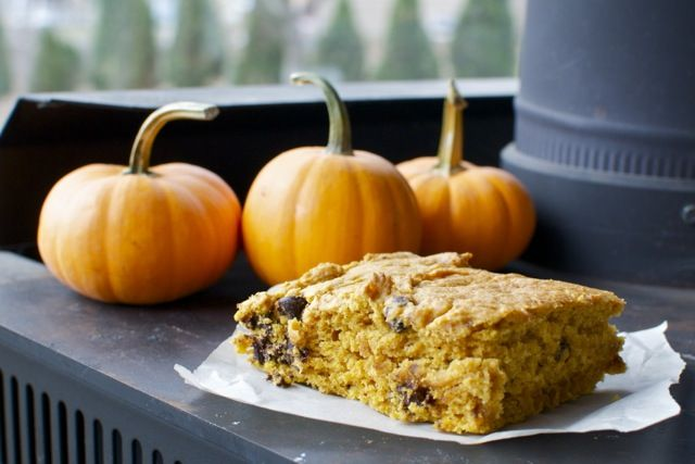Simplicity Chocolate Pumpkin Bars