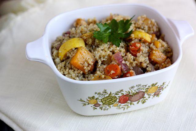 Quinoa Roasted Veg