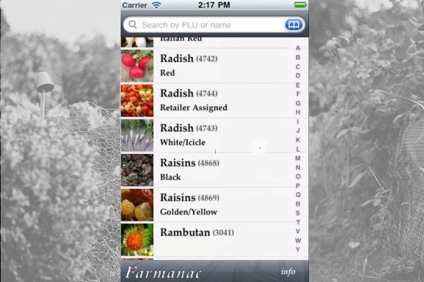 Need Help Buying Seasonal Organic Produce? There's an App for That (Farmanac!)