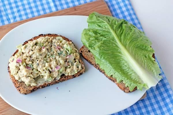 """Recipe: Tempeh """"Tuna"""" Salad"""