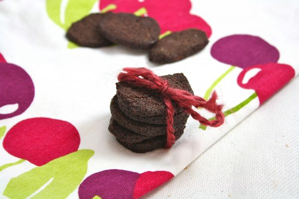 Recipe: Homemade Healthy Chocolate Wafers