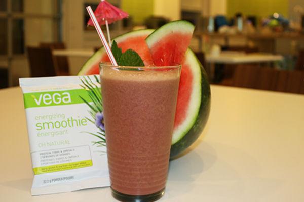 Recipe: Watermelon Mint Vega Summer Smoothie