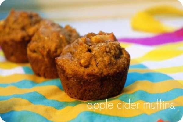 Recipe: Apple Cider Muffins