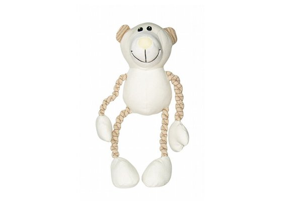 Hagen Dogit Eco Terra Natural Canvas/Cotton Toy, Bear