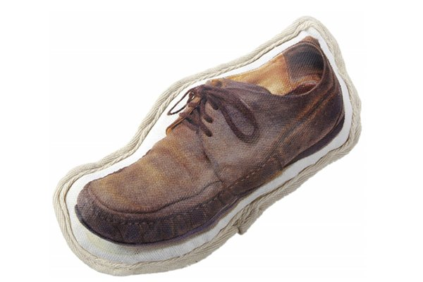 ORE Pet Recycled Canvas Old Shoe Dog Toy