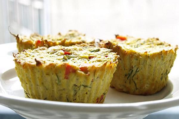 Recipe: Flourless Tofu-Zucchini Muffins