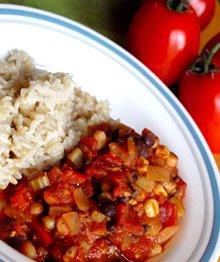 Sweet and Savory Vegan Slow Cooker Chili