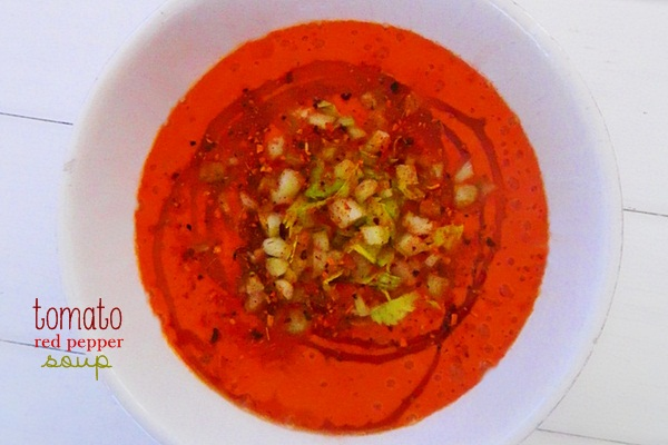 tomato and red pepper soup raw food recipe 2 OGP