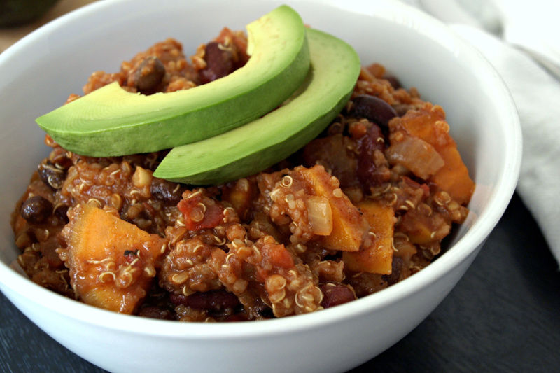 Recipe: Sweet Potato and Quinoa Chili