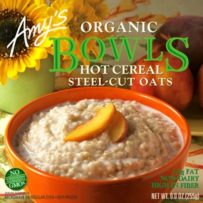 amy's hot cereal