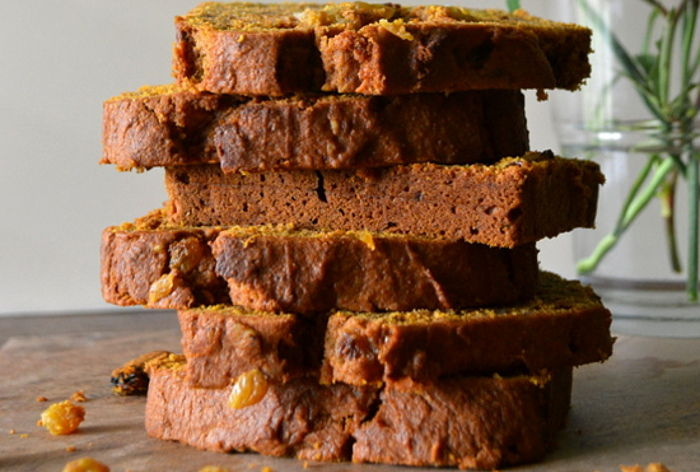 Recipe: Pumpkin and Maple Spice Quickbread