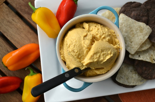 Hummus in Pot