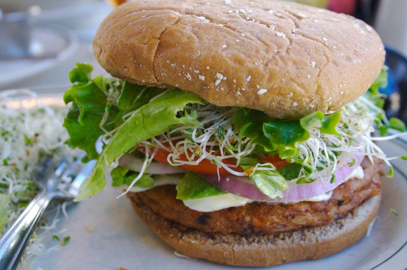 What Exactly is in That Frozen Health Food? Frozen Veggie Burgers