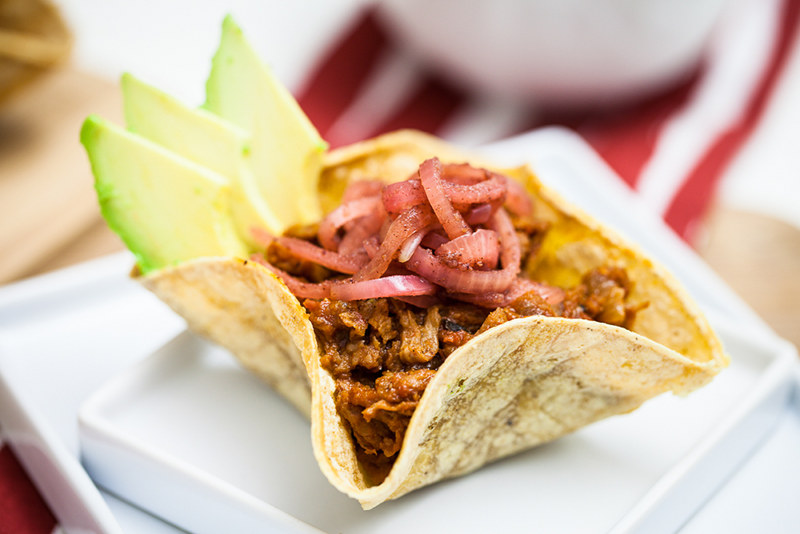 soy tacos