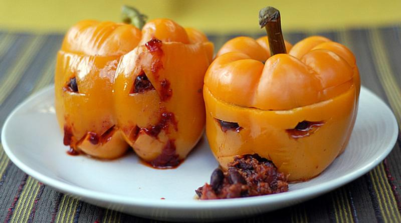 Halloween Super-Scary Spicy Vegan Chili