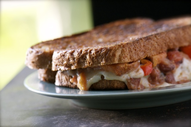 Southwestern Grilled Cheese Sandwich