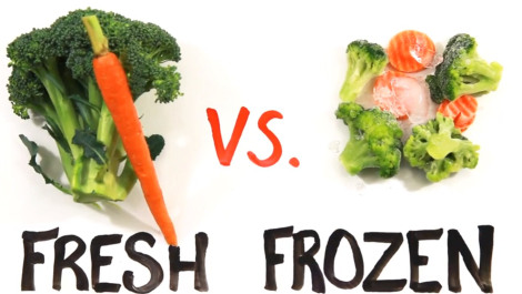 Is Fresh or Frozen Food Better? Watch this Video and YOU Decide!