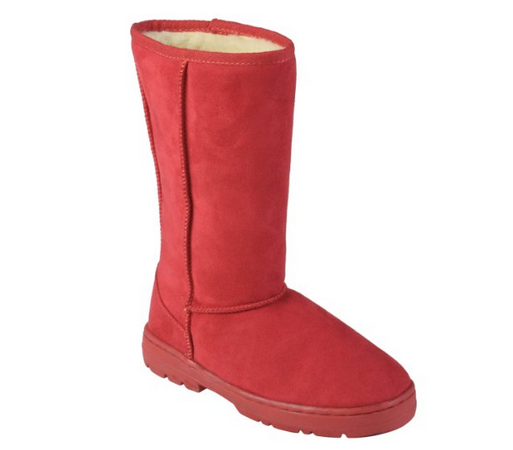 Journee Collection Womens Faux Suede Lug Sole Boots