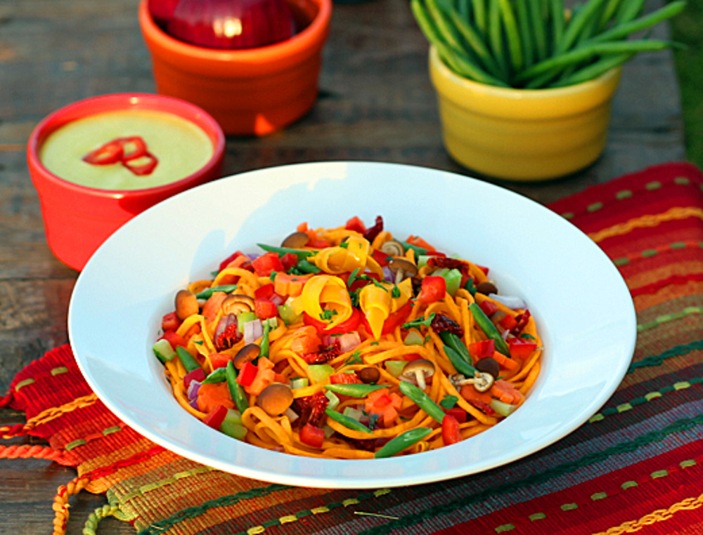 Switch Up Your Pasta Game – Lots of Veggies Can Be Made Into Noodles!