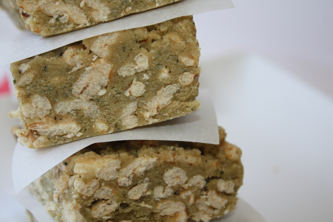 Vegan Hemp Butter Protein Bars