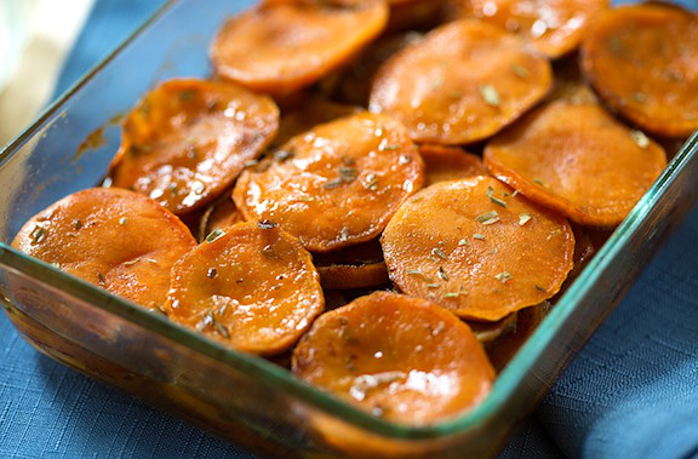 Maple-and-Tarragon-Sweet-Potatoes-Vegan
