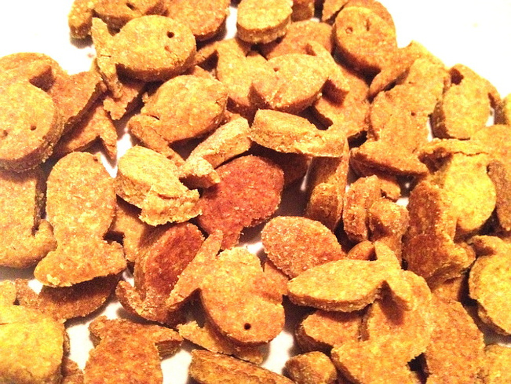 Vegan Goldfish Crackers