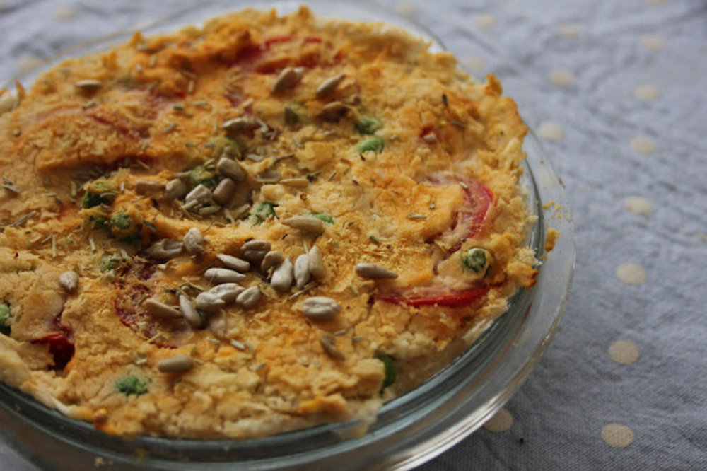 Simple Butter Bean Quiche