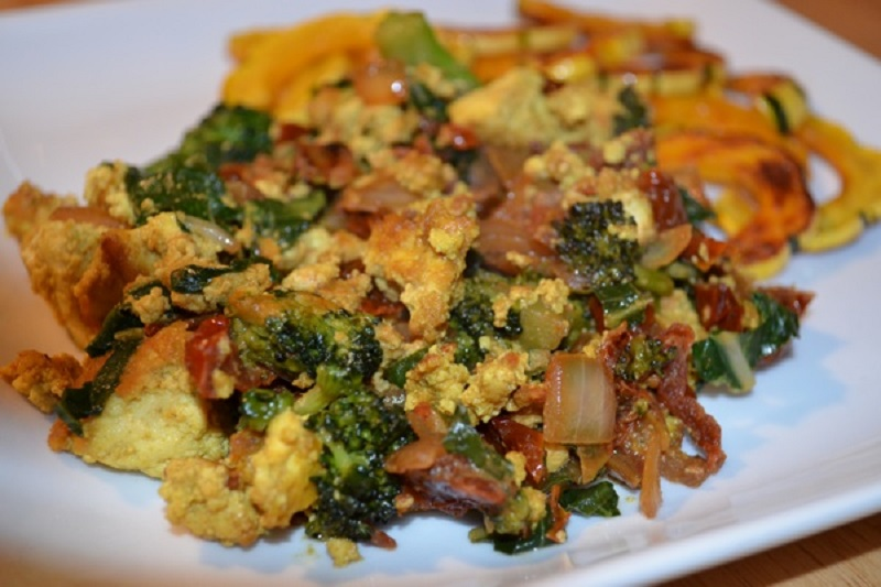 Tofu Scramble with vegetables