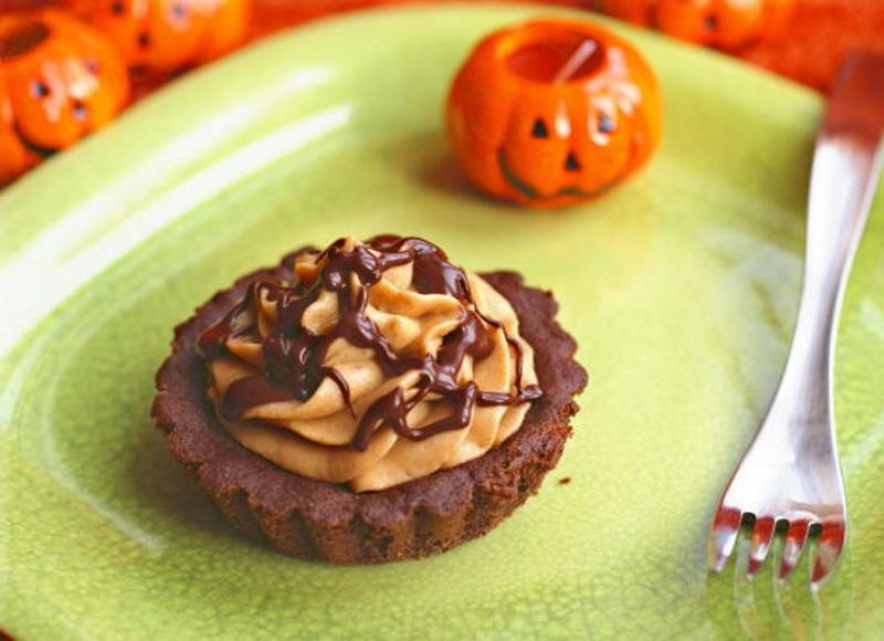 Pumpkin Mousse Tarts