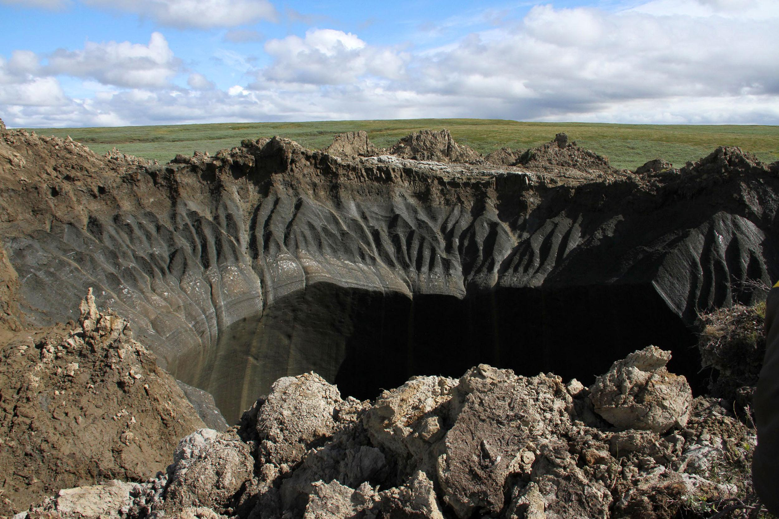 Illisa Ocko: Climate Change Is Creating Massive Craters to Form in Siberia, Time for a Wake Up Call