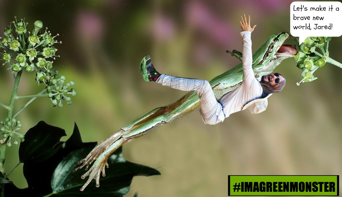 Jared Leto Is At It Again! This Time, We Have Him Hugging 10 Species We Risk Losing!
