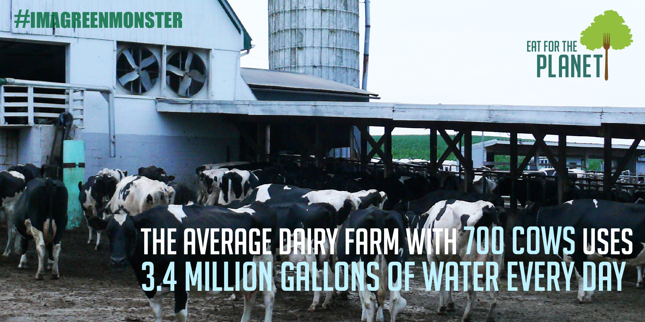 Milk Life? How About Milk Destruction ... How the Dairy Industry is Eating Up the Planet