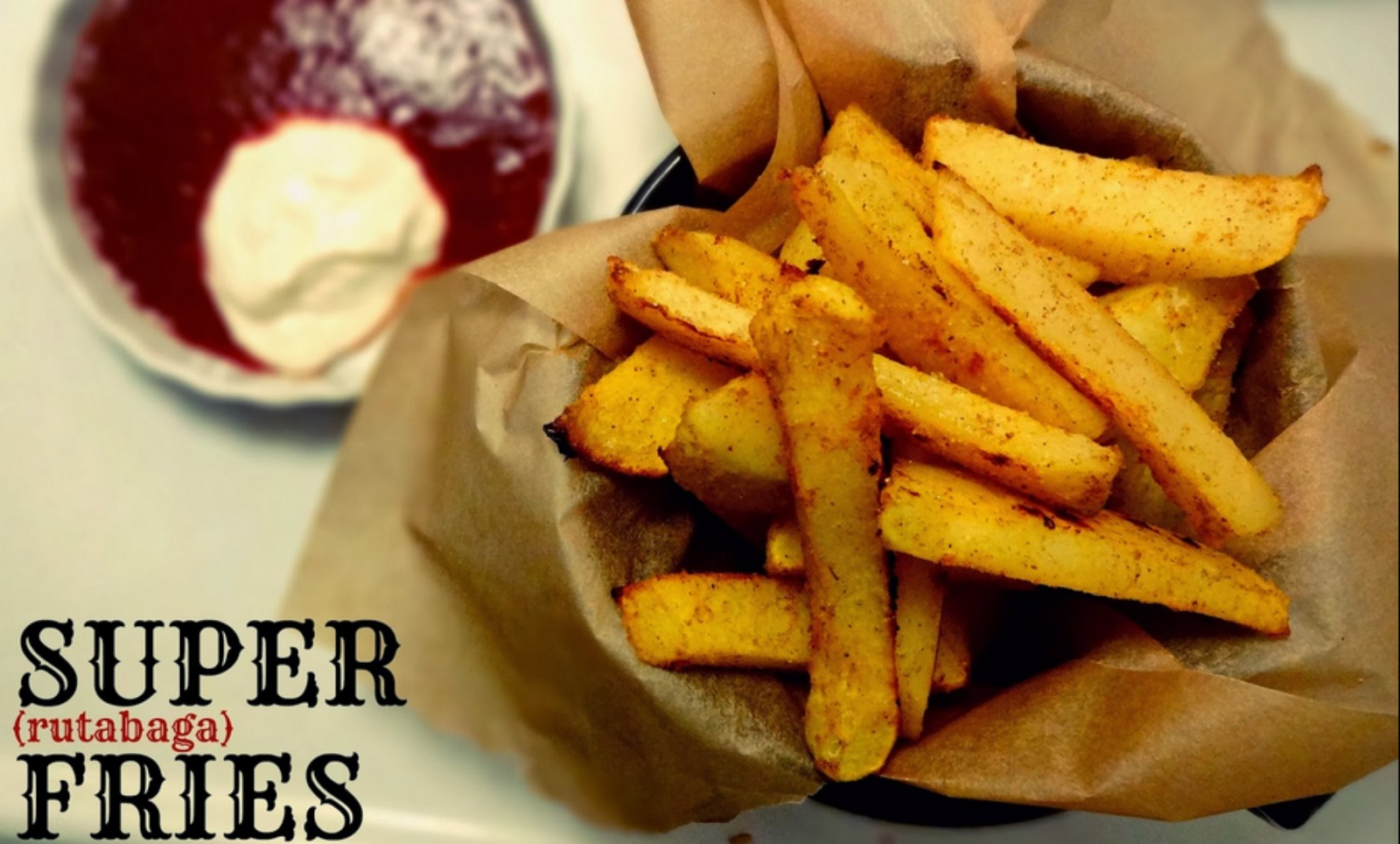 Danielle's Super (Rutabaga) Fries!