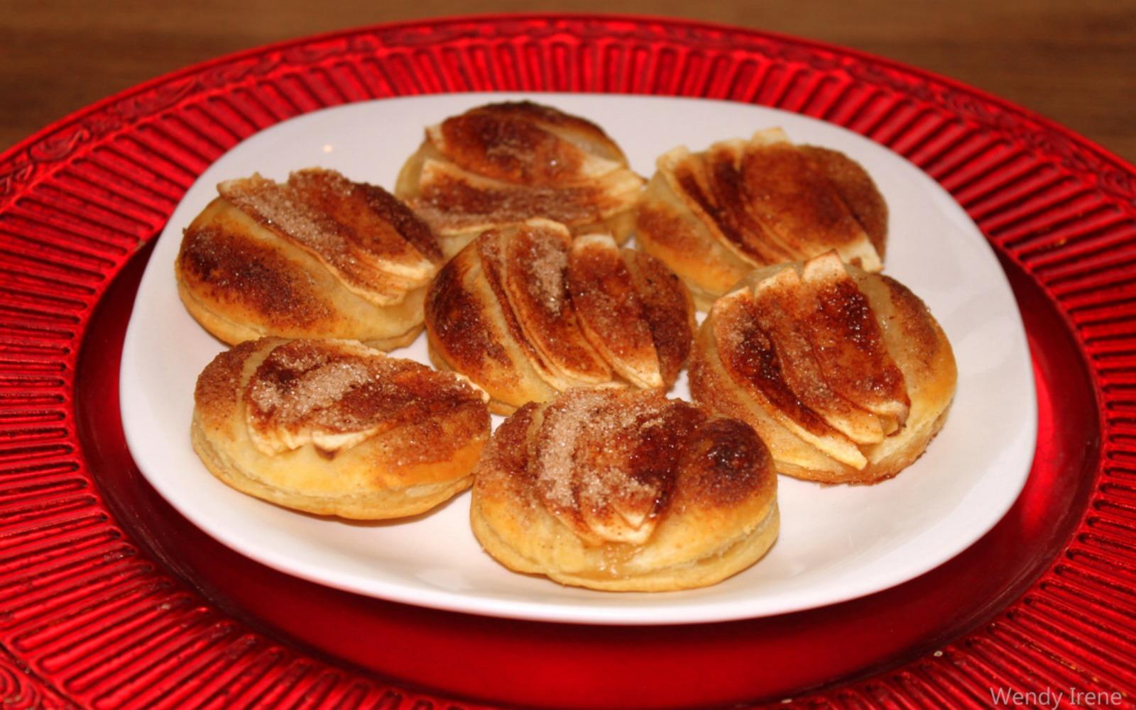 heartwarming apple pastries
