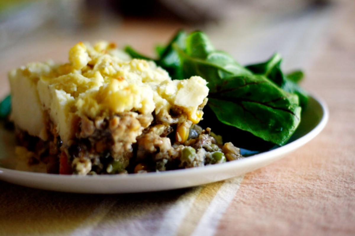 Tempeh Shepherd's Pie [Vegan]
