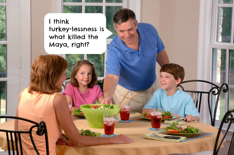 Not Eating Turkey? Here are 10 Answers to Nonsense Comments You're Gonna Hear At the Holiday Dinner