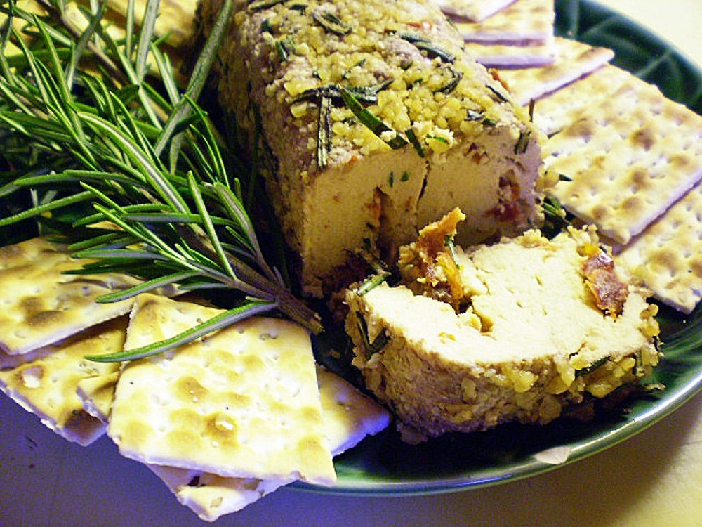 Herb-and-Nut-Encrusted-Cheese-Log-Vegan-and-Gluten-Free