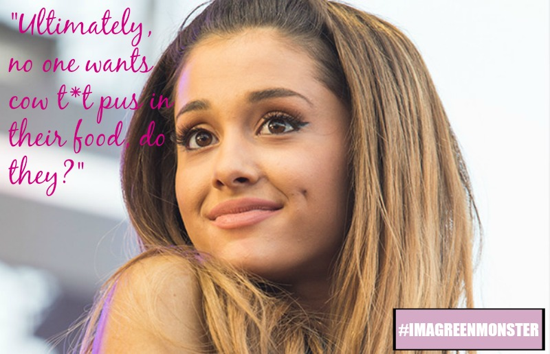 6 Times Vegan Powerhouse Ariana Grande Said Something Completely Awesome