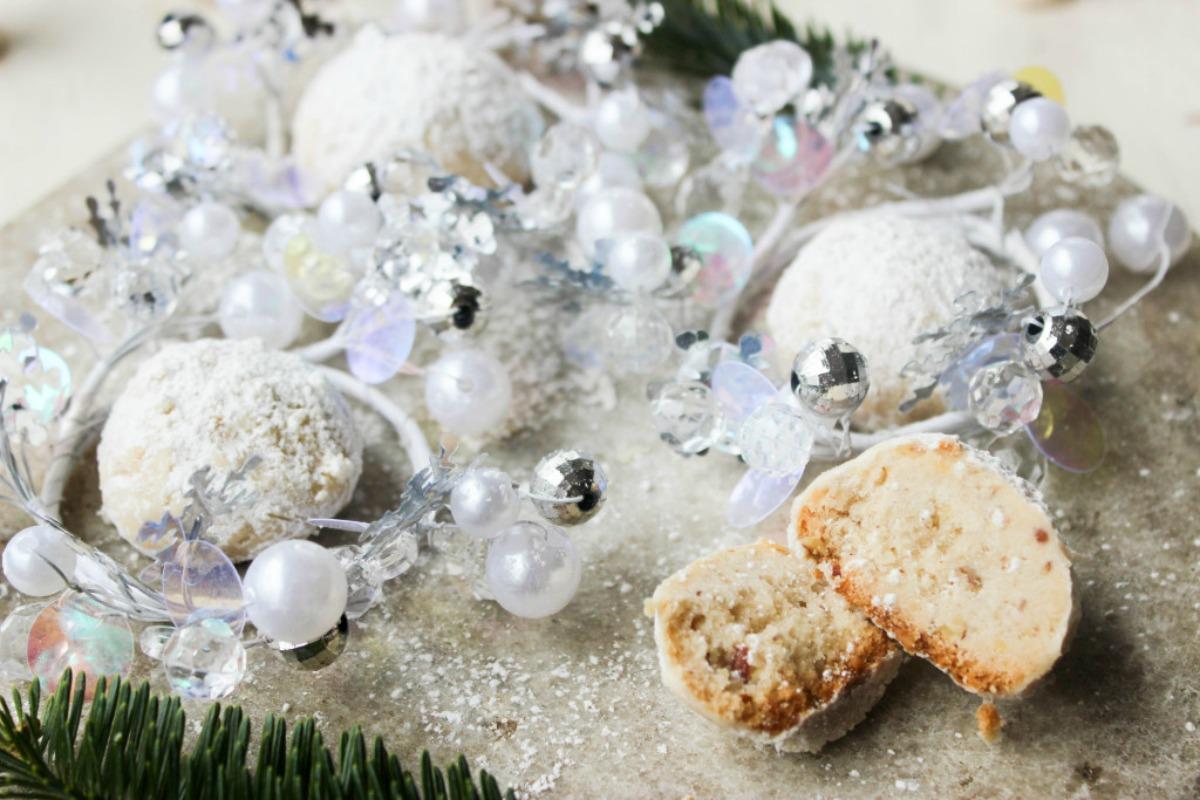 Snowball Cookies [Vegan]