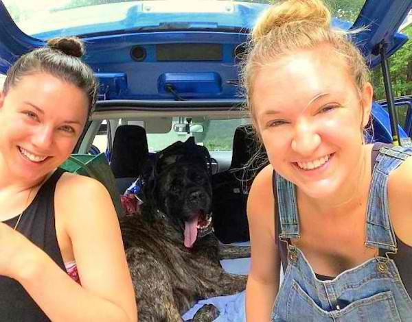 When This Mastiff was Diagnosed With Terminal Cancer, Her and Her Mom Went on an Adventure (PHOTOS)