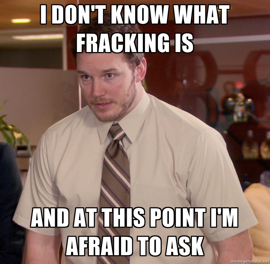 Explain Like I'm Five: What The $#@& is Fracking?