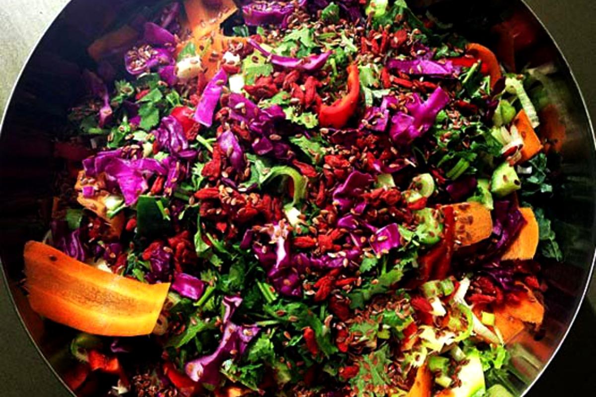 Rainbow Salad [Vegan, Raw, Gluten-Free]