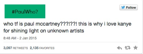 Why Kanye Fans Should Know Who Paul McCartney is