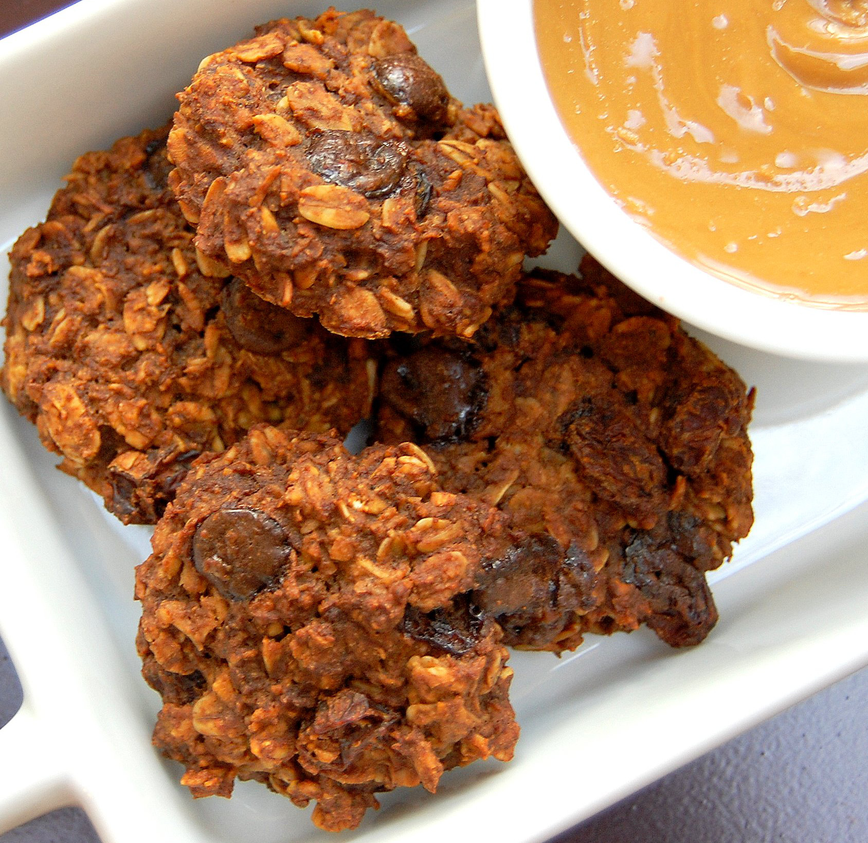 Sunflower-Seed-Butter-Oatmeal-Cookies