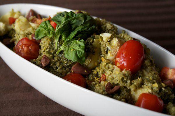 Pistachio-Pesto-Quinoa